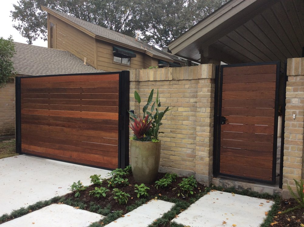 Ipe Fence And Automatic Gate Yelp