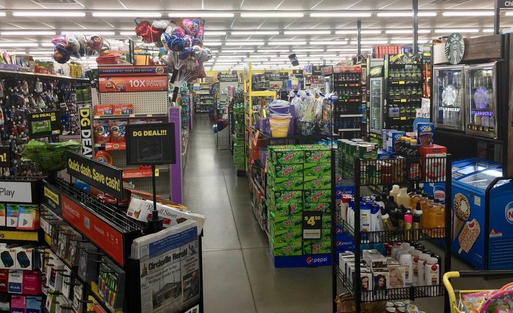 Dollar General: 1191 N Court St, Circleville, OH