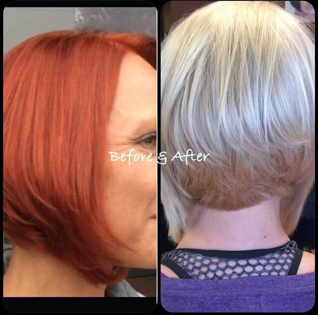 Dramatic changes by our own jaymie yelp - Halo salon vancouver ...