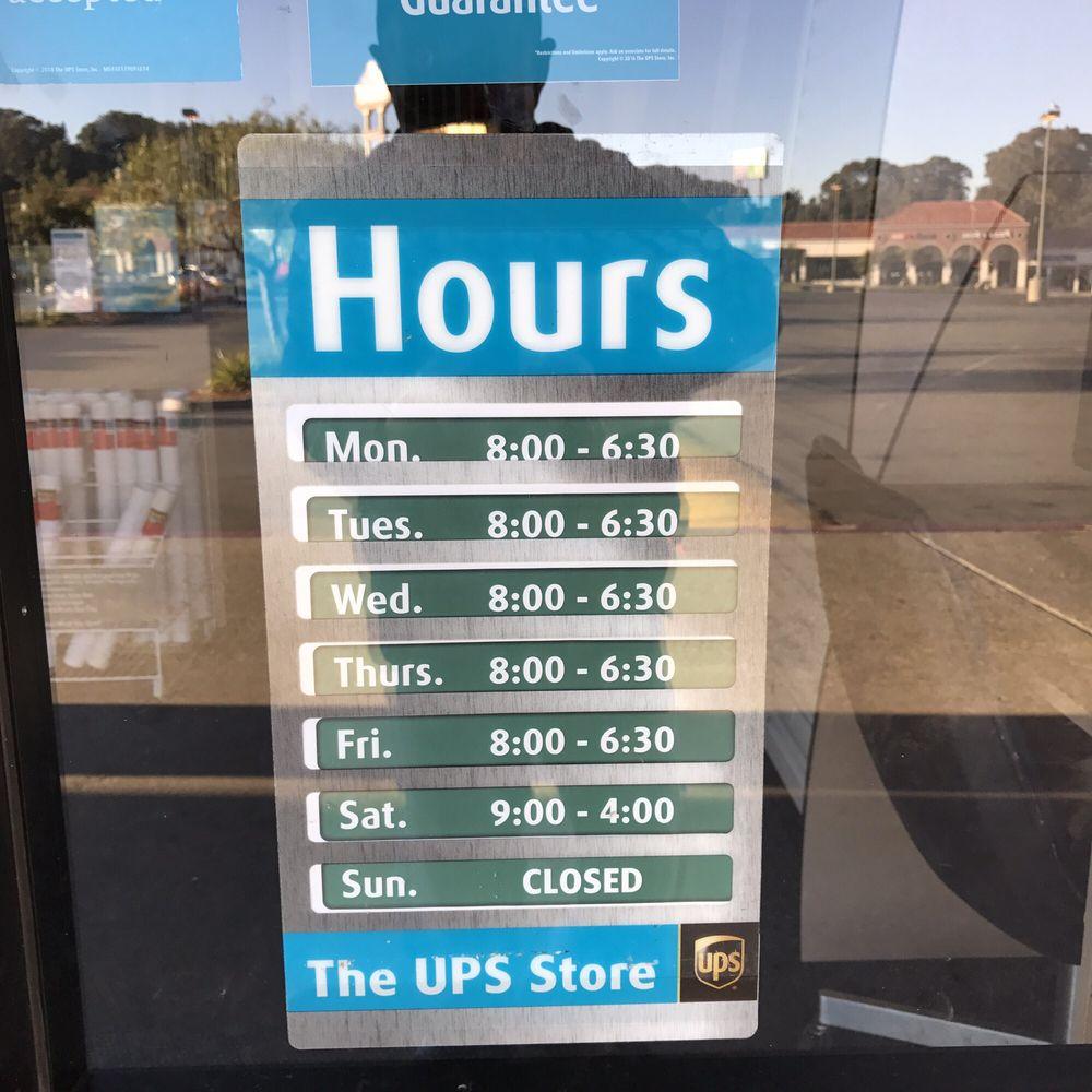 The UPS Store: 106 San Pablo Town Ctr, San Pablo, CA