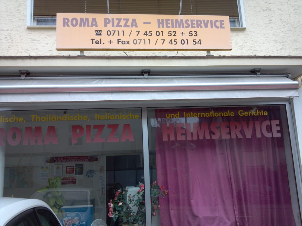 roma pizza pizza osterbronnstr 1 stuttgart baden w rttemberg germany restaurant. Black Bedroom Furniture Sets. Home Design Ideas