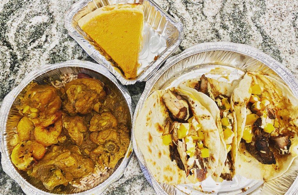 Food from Jerk Taco