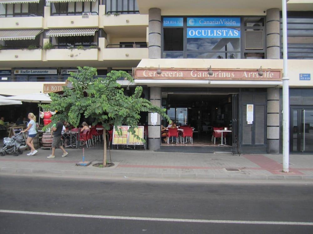 cervecer a gambrinus cucina mediterranea avenida fred