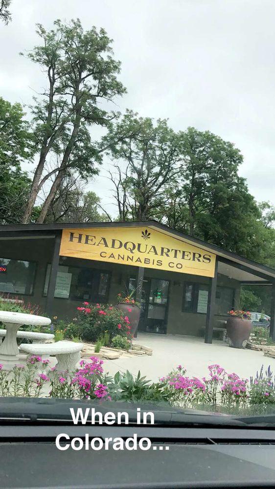 Headquarters Cannabis: 4497 Ute Hwy, Longmont, CO