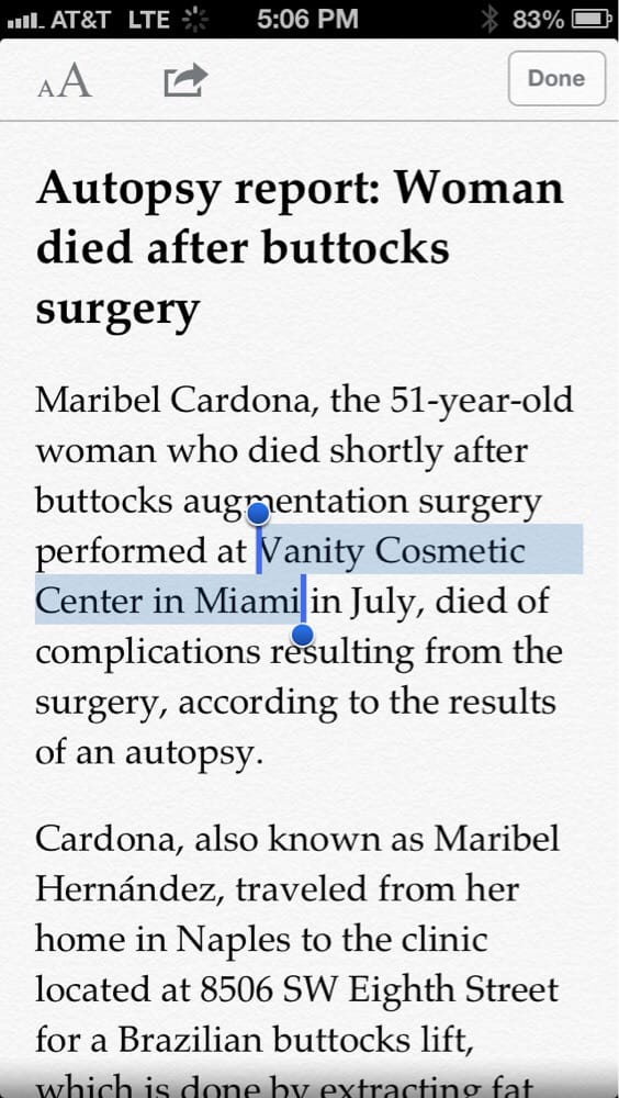 Vanity Cosmetic Surgery Miami, Inside - Yelp