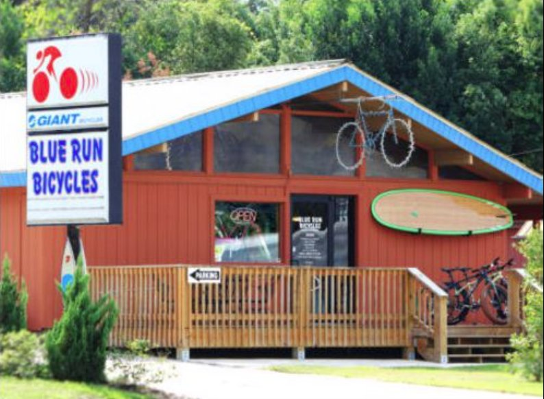 Blue Run Bicycles & Paddle Co: 20312 E Pennsylvania Ave, Dunnellon, FL