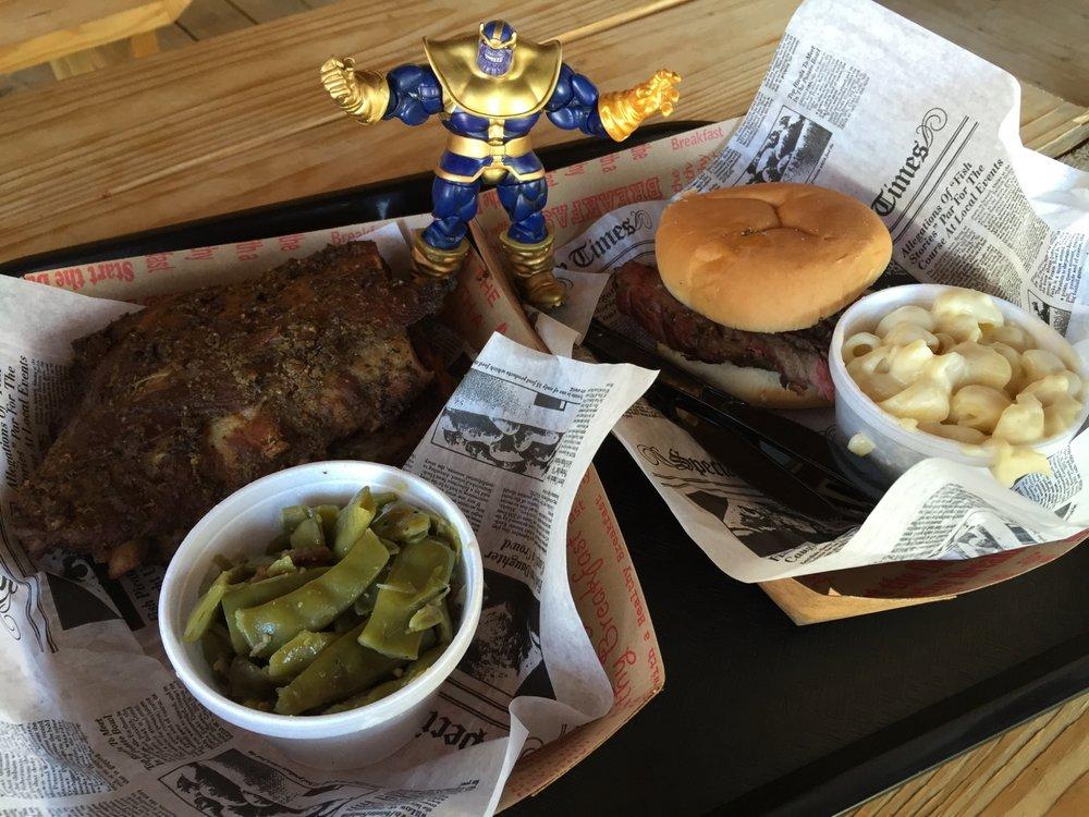 Food from 1572 Roadhouse Bar-B-Q