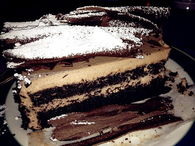 Chocolate fedora cake