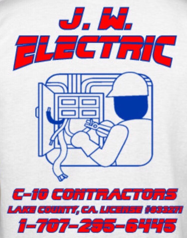 JW Electric: 3284 Elizabeth Dr, Lakeport, CA