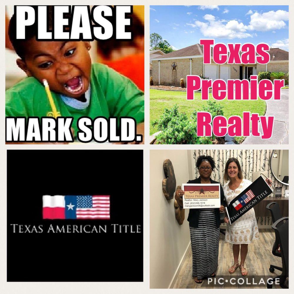 Mary Jackson - Texas Premier Realty