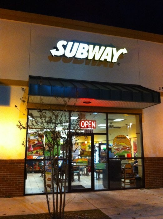 Subway: 15530 State Rd 441, Alachua, FL