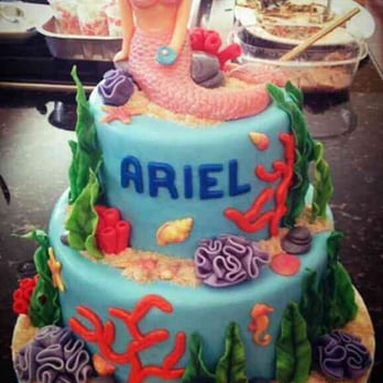 Photo Of Cake Bunny   San Diego, CA, United States. Little Mermaid For