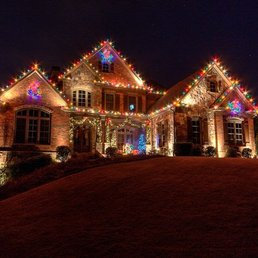 photo of christmas decor of atlanta atlanta ga united states