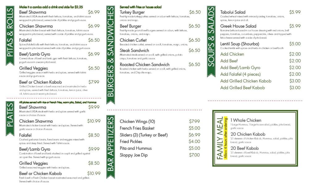 Photos for sula mediterranean kitchen and bar menu yelp for Maria s italian kitchen menu