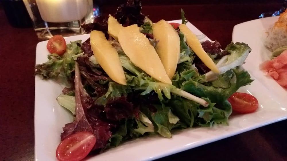 Mango salad yelp for Drunken fish kc