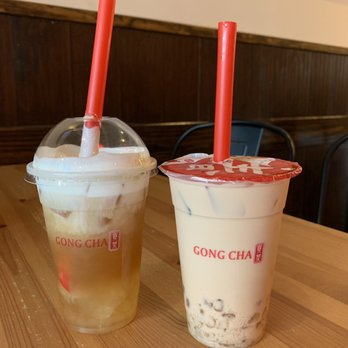Gong Cha - 9889 Bellaire Blvd, Chinatown, Houston, TX - 2019