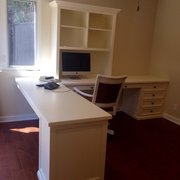 White Melamine Closet With Photo Of Closet Crafters   Ventura, CA, United  States. Custom Painted Office Desk ...