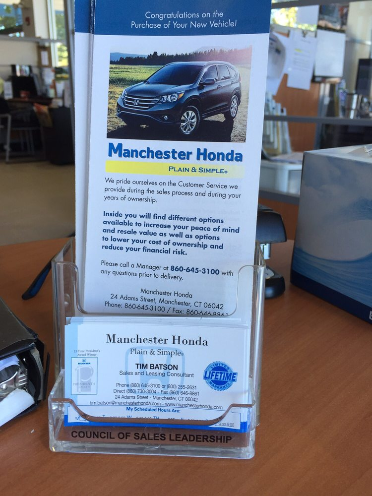 Photos for Manchester Honda - Yelp