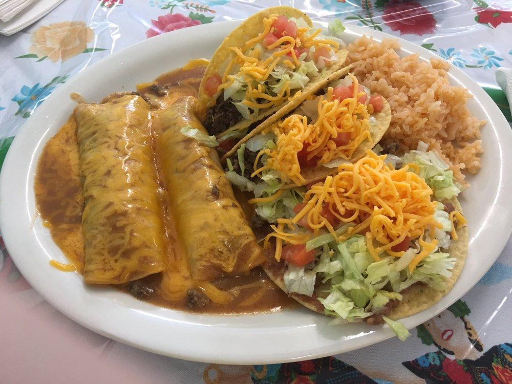 Food from La Cabana