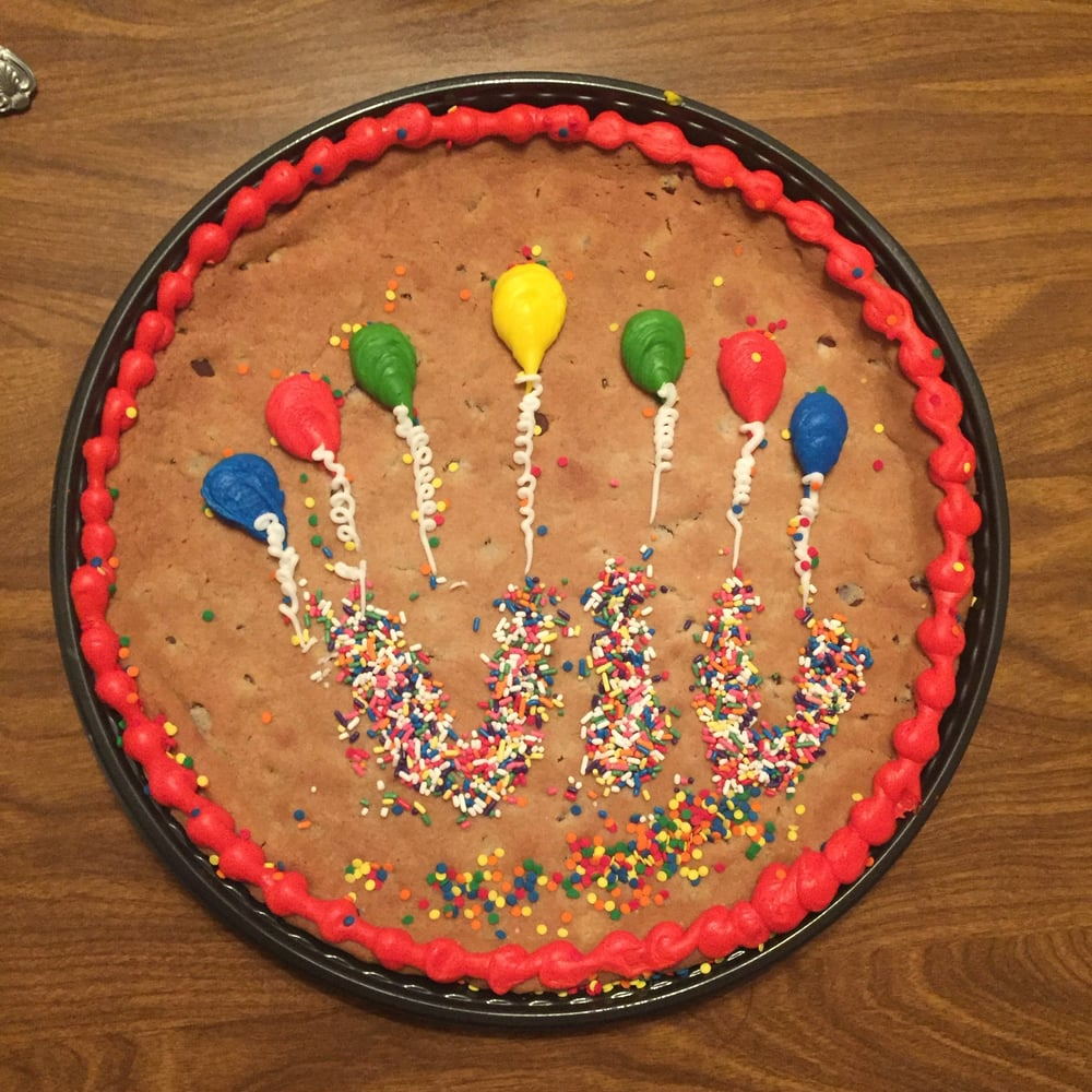 My cookie cake Yelp