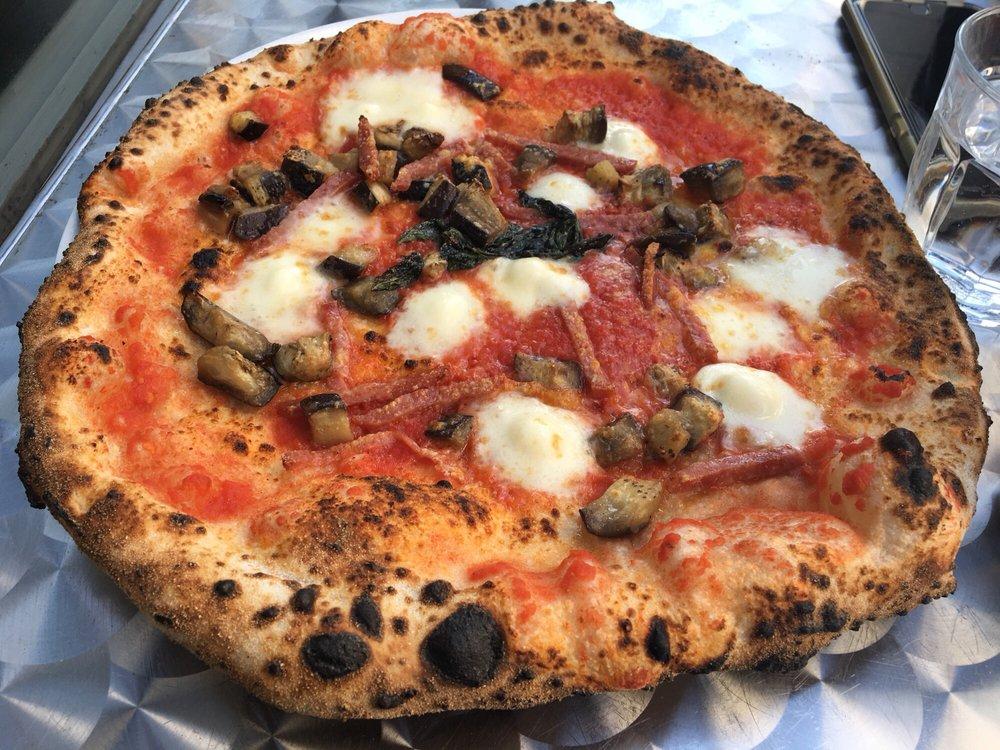 Salame Maria Rosa.Santa Rosa Pizza Tomato Sauce Smoked Mozzarella Salame Di