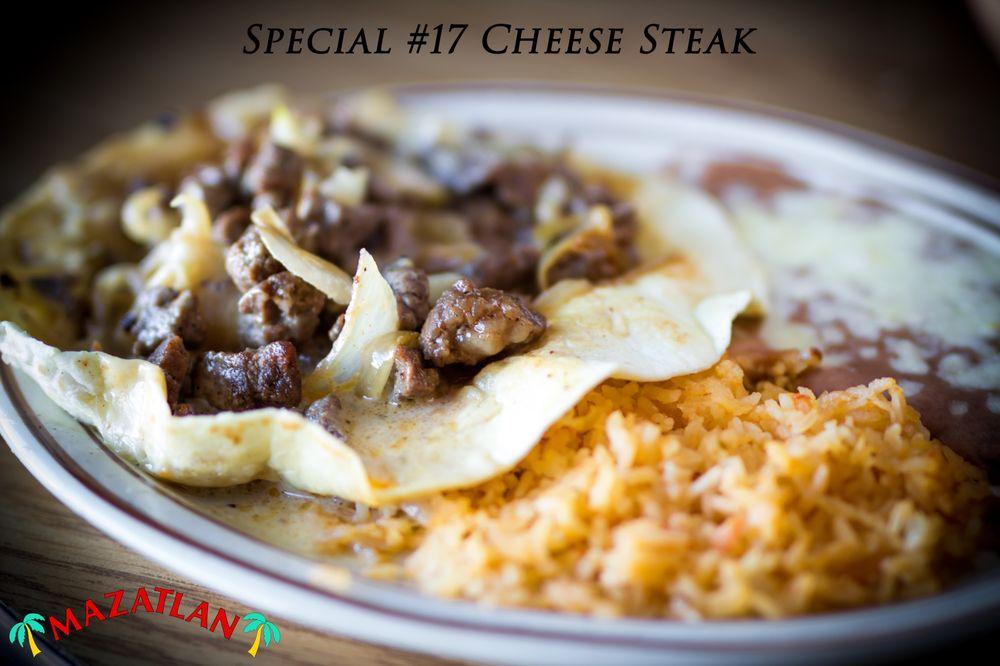 Food from Mazatlan Mexican Restaurant