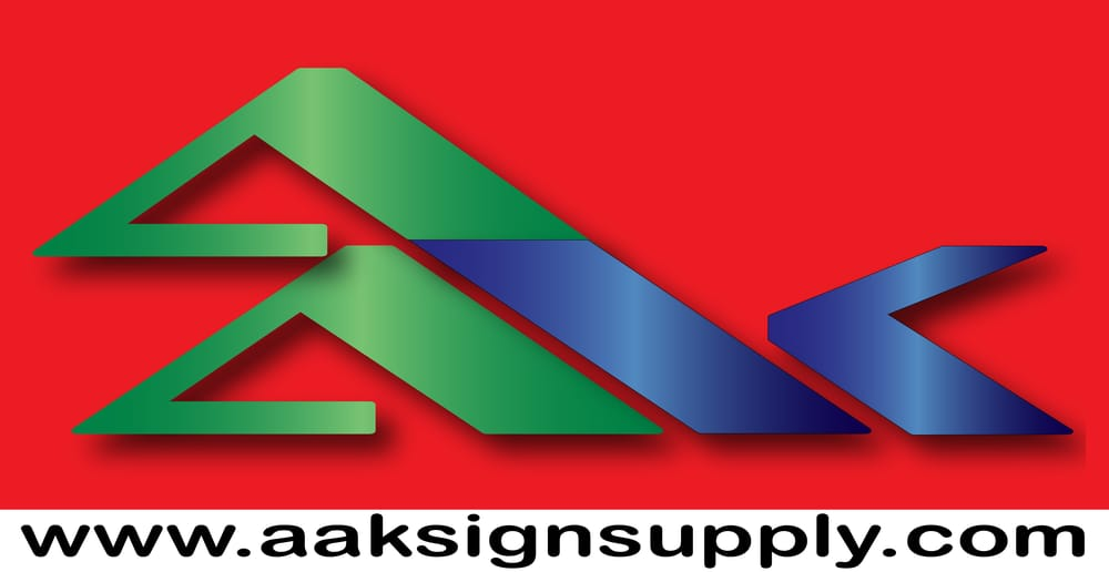 AAK Signs & Supply: 3630 San Fernando Rd, Glendale, CA