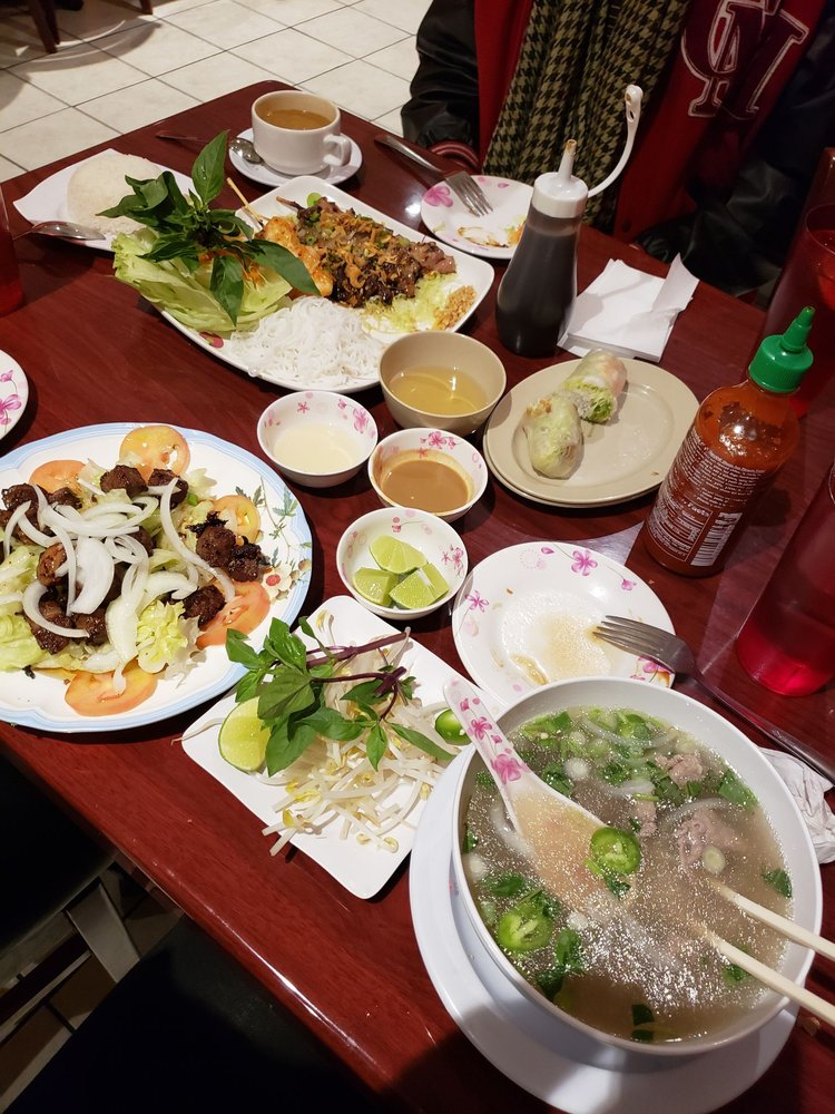 Food from Saigon Noodle House