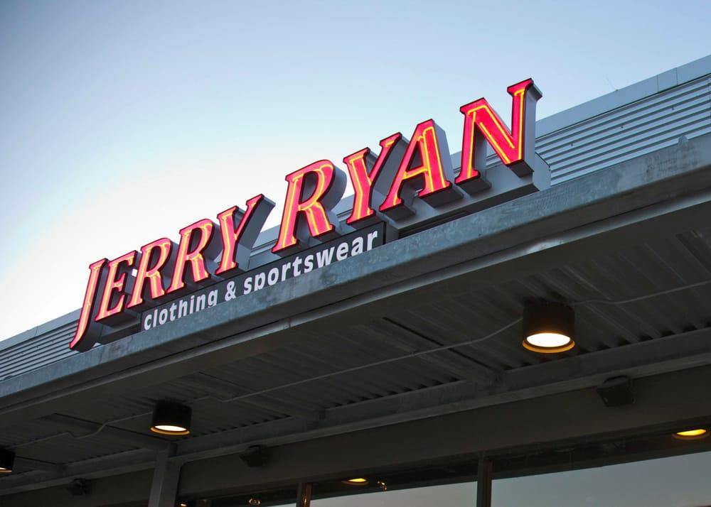 Jerry Ryan Clothing and Sportswear: 7806 Dodge St, Omaha, NE