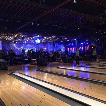 Bowling And Dance Floor Behind It View Is From Restaurant
