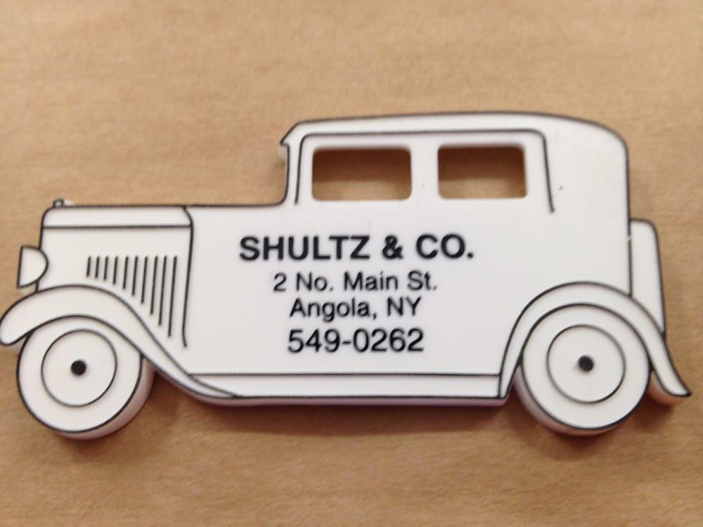 Shultz & Co Hardware & Aplncs: 2 N Main St, Angola, NY