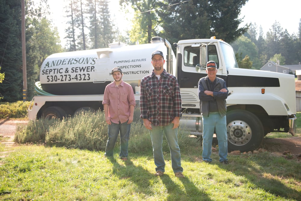 Anderson's Septic and Sewer: 12510 Woodside Ln, Grass Valley, CA