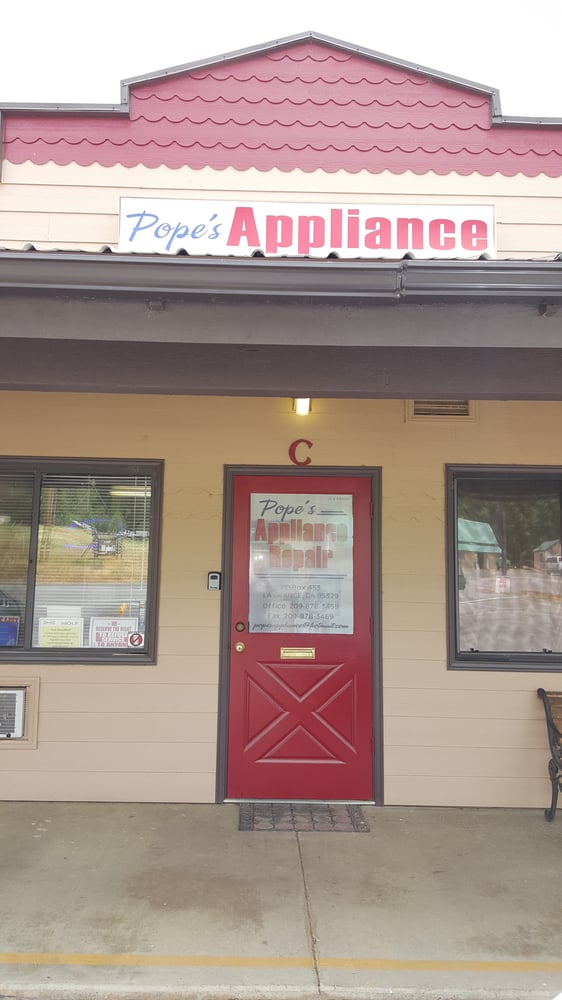 Pope's Appliance Repair: 6430 Greeley Hill Rd, Coulterville, CA