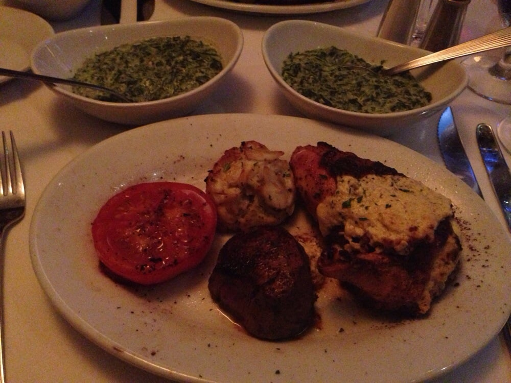 Mixed Grill With Creamed Spinach Yelp