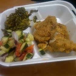 Photo Of Filet Soul Greensboro Nc United States Fried Pork Chops
