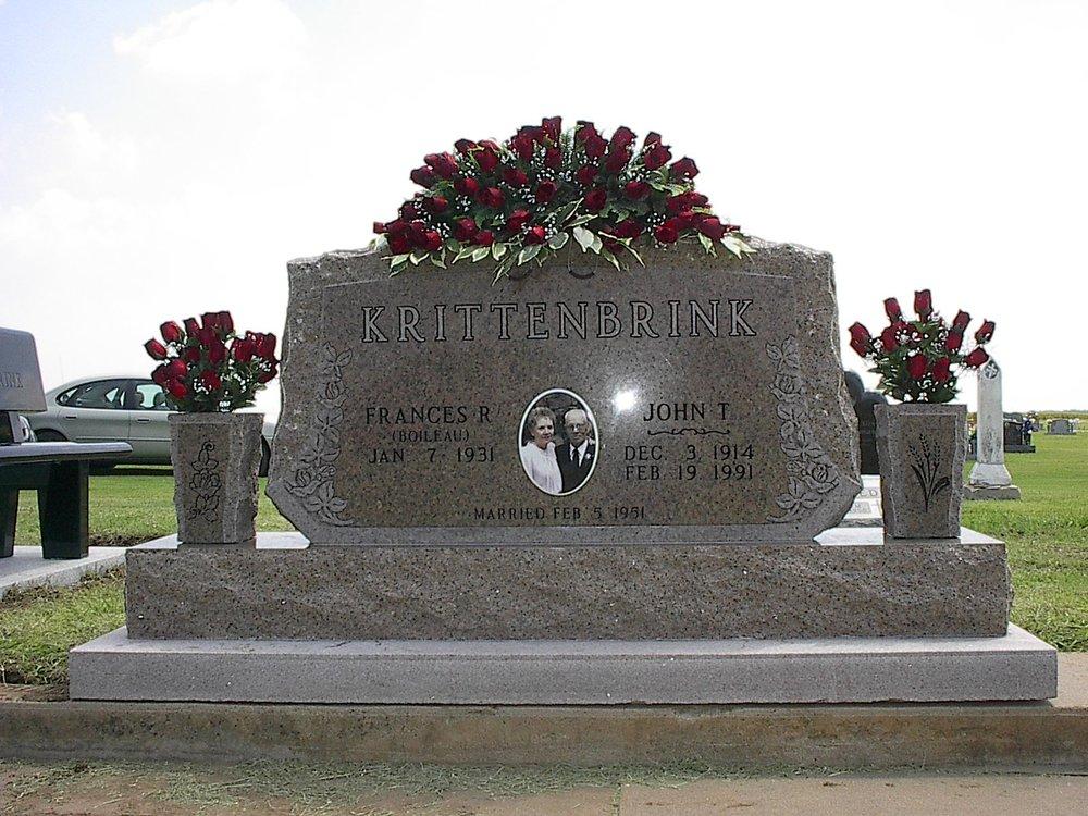 Carey Monument: 1124 N Main St, Fairview, OK