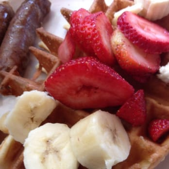 Photo Of Railroad Cafe Livermore Ca United States Kids Waffle With Fresh