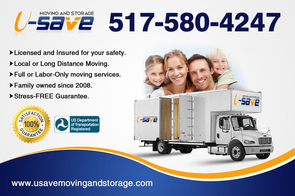 U-Save Moving and Storage: 307 N Waverly Rd, Lansing, MI