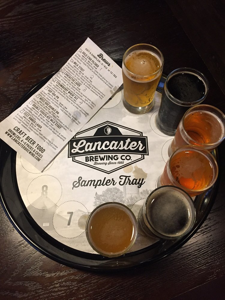 Lancaster Brewing Taproom: 2323 Lincoln Hwy E, Lancaster, PA