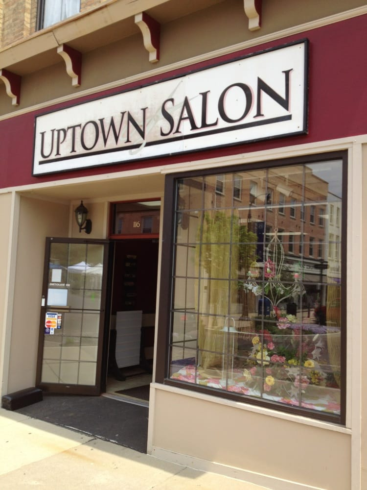 Uptown salon hairdressers 116 north benton st for Salon open source