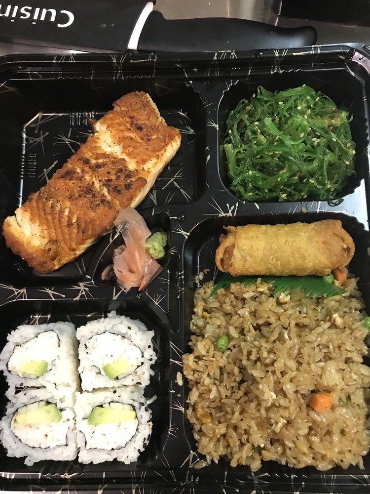 Food from Sakura Noodle House & Sushi Bar
