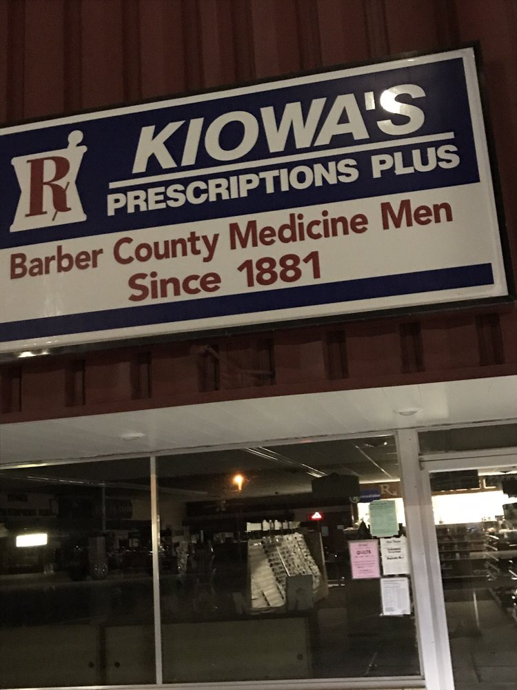 Kiowa's Prescriptions Plus: 530 Main St, Kiowa, KS