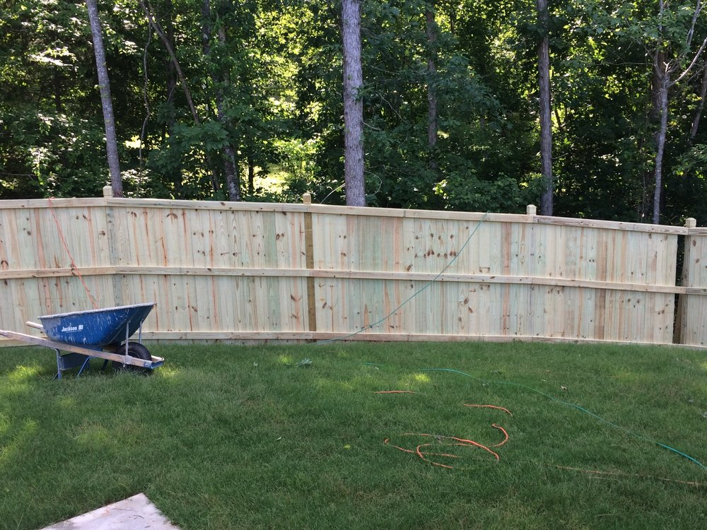 Accent Fence: 4544 Atwater Ct, Buford, GA