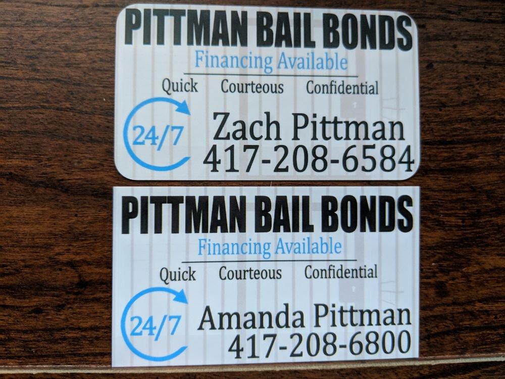 Pittman Bail Bonds: 943 N Boonville Ave, Springfield, MO