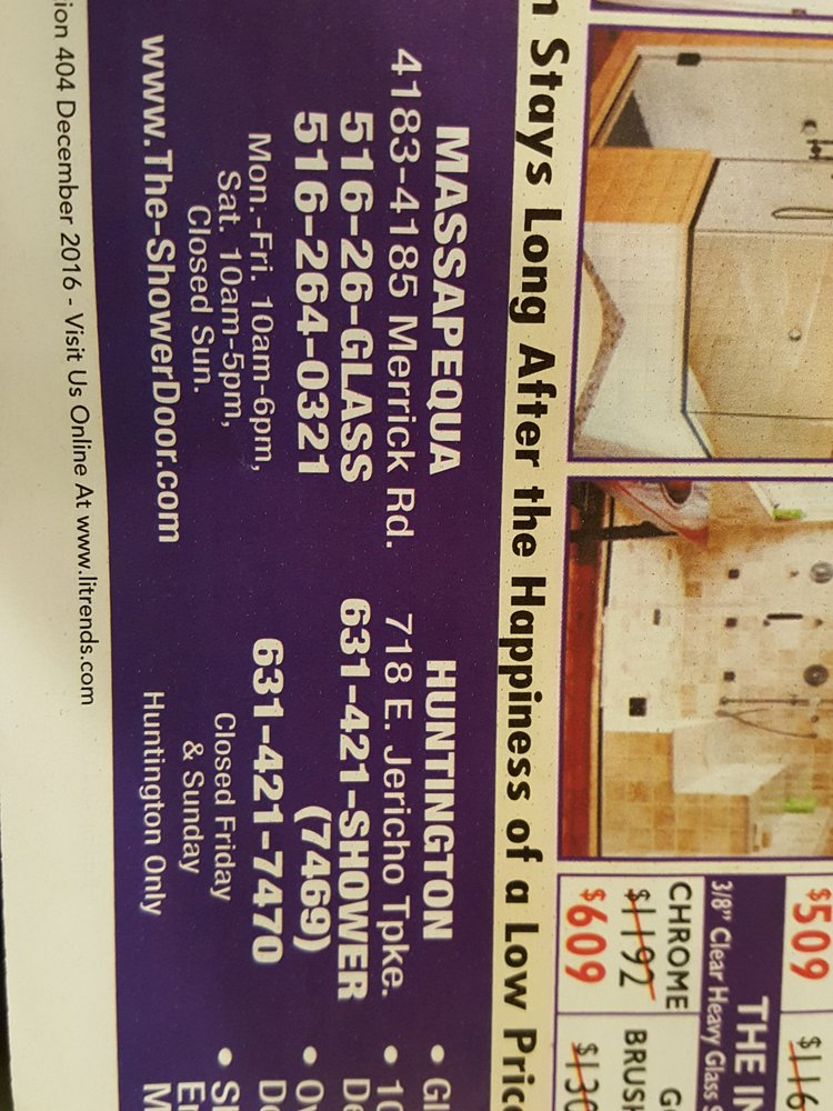 Shower Door 11 Reviews S Installation 4185 4183 Merrick Rd Mapequa Ny Phone Number Yelp