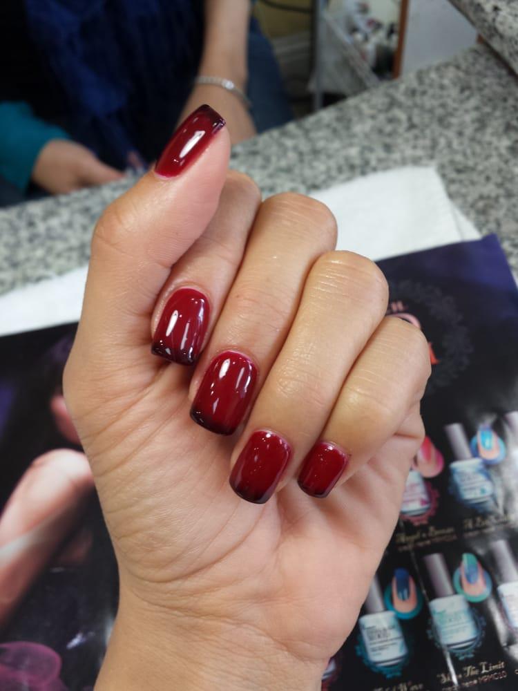 Crimson nightfall mood gel the lounger ur nails the better the ...