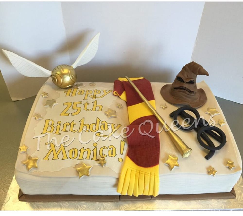 ... Cake Queens - San Carlos, CA, United States. Harry Potter Birthday