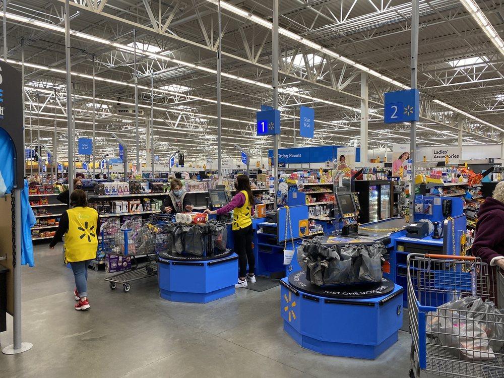 Walmart Supercenter: 2410 N State Hwy 3, North Vernon, IN