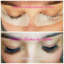 90d6c9809d2 Photo of Allure Lashes & Beauty Lounge - Frisco, TX, United States. She