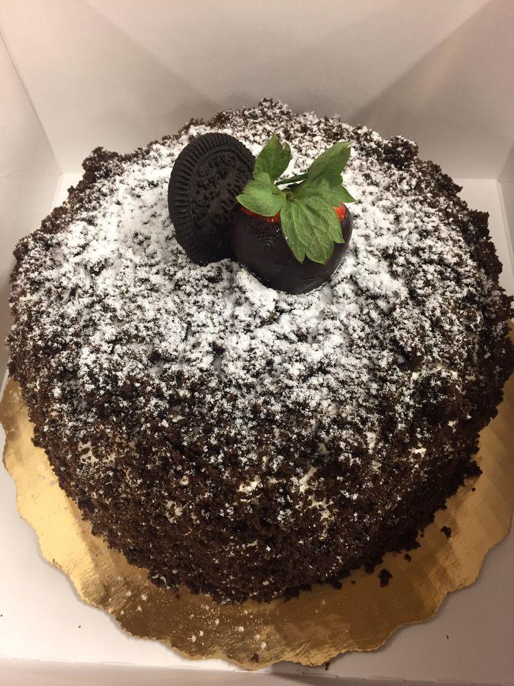 Publix Fruit Filled Brown Derby Cake